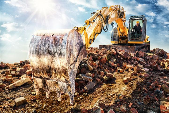 smaltimento e trasporto rifiuti settore edilizia